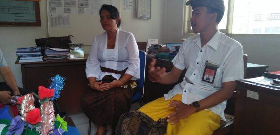 SMA N 1 Ubud Menerima Kunjungan Direktorat Pembinaan SMA